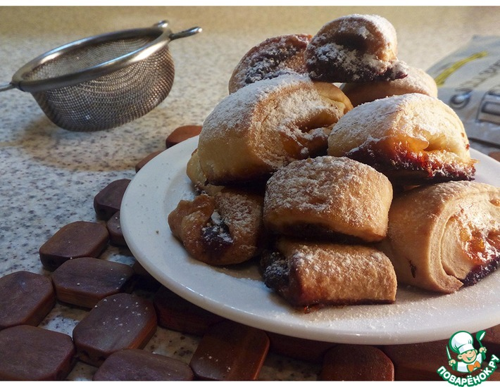 Фруктовое печенье к праздничному столу