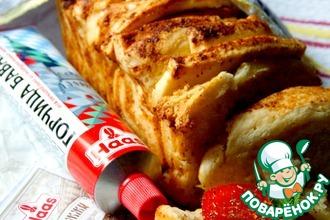 Рецепт: Итальянский хлеб Гармошка с горчицей
