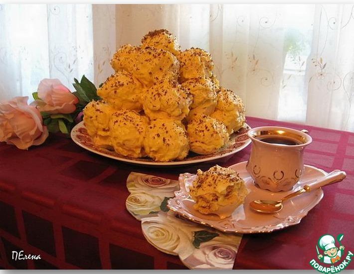 Рецепт: Торт-десерт Каприз актрисы