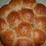 Булочки пшенично-льняные