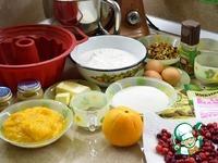 Рождественский кекс Трио ингредиенты