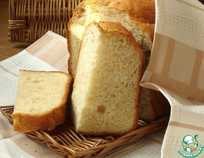 Рецепт: Хлеб с кукурузной мукой