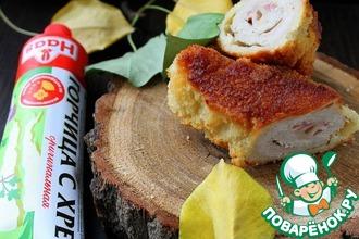 Рецепт: Шницель из свинины по-карагеоргиевски