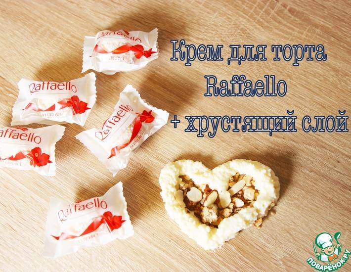 Рецепт: Крем для торта «Рафаелло»