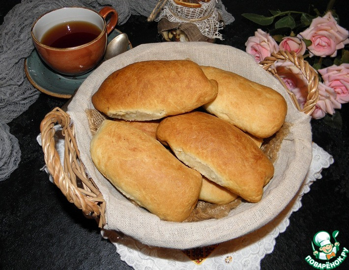 Рецепт: Пироги Для ленивых хозяек
