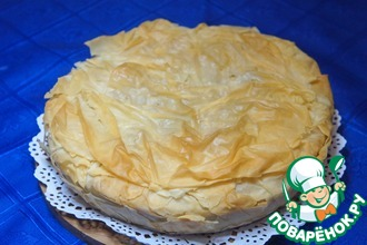 Рецепт: Пирог с курицей по-гречески Котопита