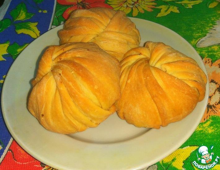 Рецепт: Пирожки с мясом и картофелем