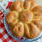 Пирог с сыром и зеленью Цветик-семицветик