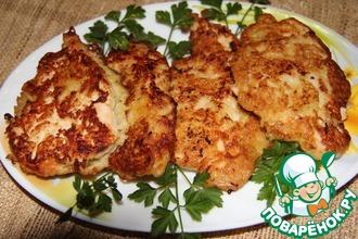 Рецепт: Куриные шницели по-старочешски