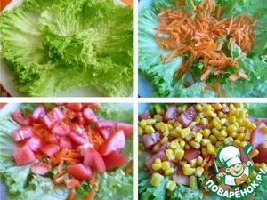 Салат простой из кукурузы и феты фото