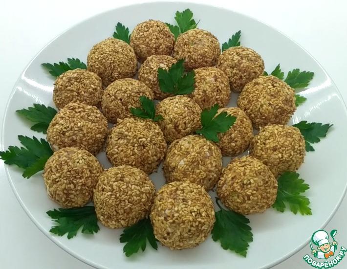 Рецепт: Салат Мимоза в шариках
