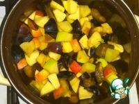 Булочки яблочно-сливовые ингредиенты