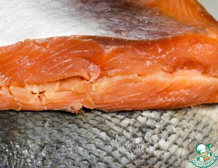 Рецепт: Засолка красной рыбы
