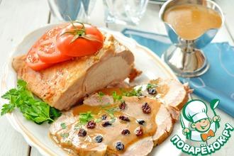 Рецепт: Баварское жаркое из маринованного мяса