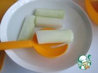Лук-порей в беконе ингредиенты