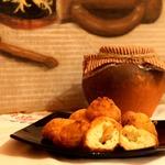 Пампушки из творога с картофелем
