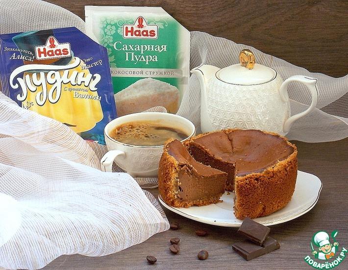 Рецепт: Шоколадно-кофейный сырник