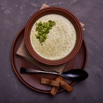 Крем-суп из брокколи и плавленого сыра