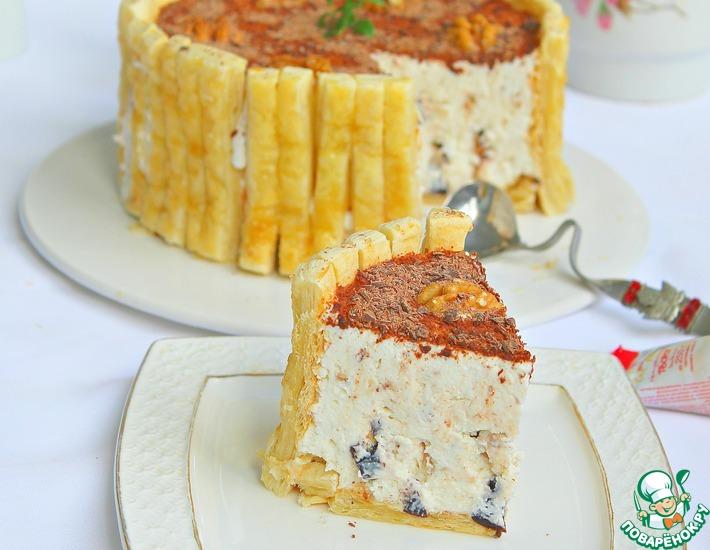 Рецепт: Творожный десерт без хлопот Почти классика