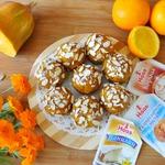 Тыквенные кексы с апельсиновой помадкой