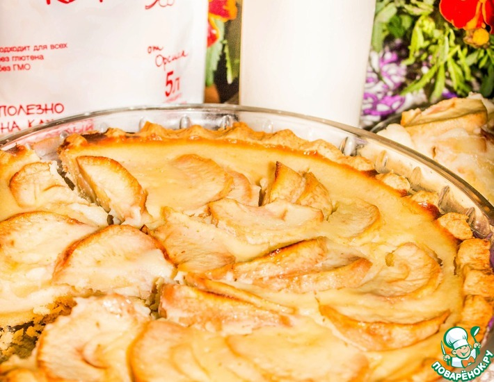 Рецепт: Яблочный тарт