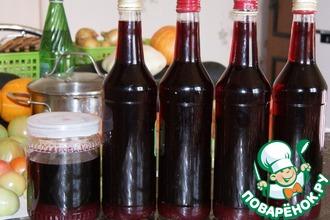Рецепт: Настойка из ирги и смородины на водке