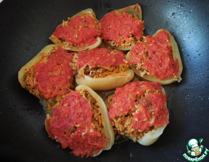 Рецепт: Фаршированные перцы по-анкарински
