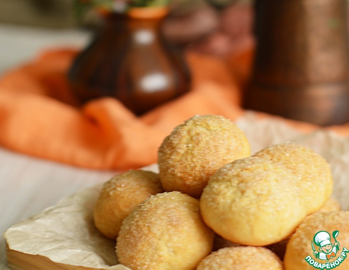Рецепт: Печенье на кефире