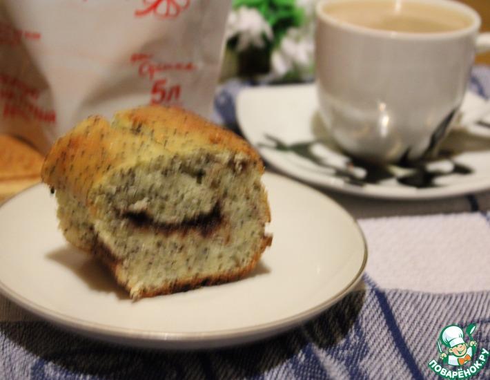 Рецепт: Маковый кекс с корицей