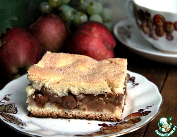 Рецепт: Яблочный пирог Дори Гринспен