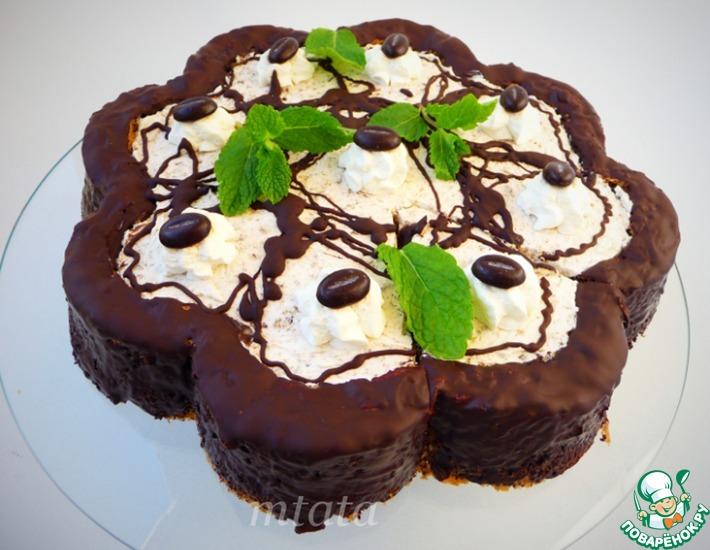 Орехово-сливочный торт