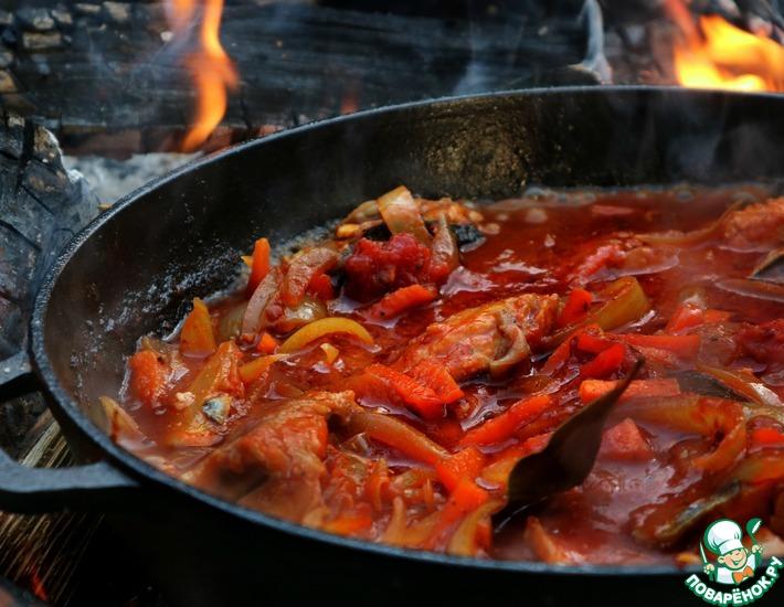 Рецепт: Сельдь в томате