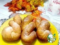 Корейские пончики на кефире Ванильный сахар