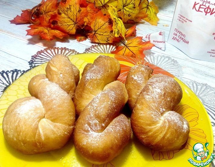 Рецепт: Корейские пончики на кефире