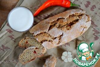 Рецепт: Хлеб на сыворотке без дрожжей