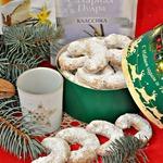 Австрийское рождественское ванильное печенье