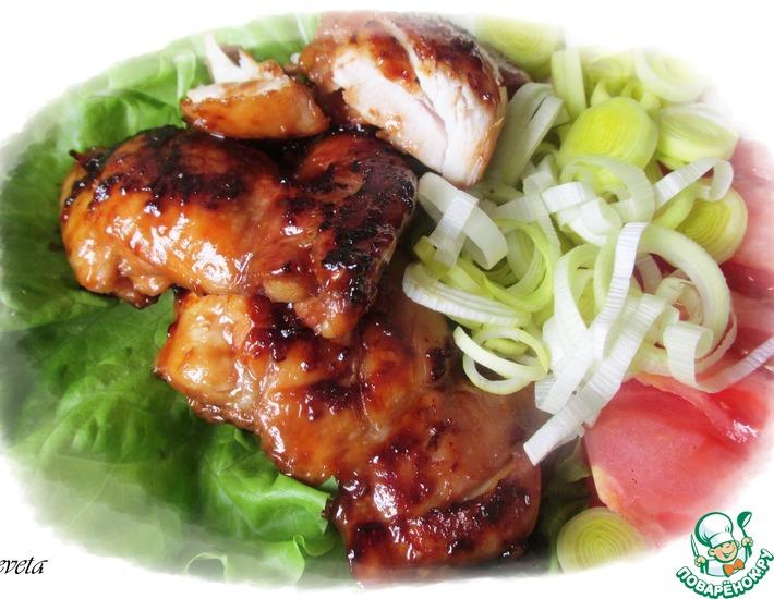 Рецепт: Курица в соусе Амарант