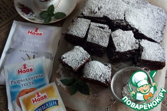 Рецепт: Шоколадный пирог с цукатами