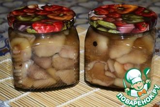 Рецепт: Маринованные грибы на зиму