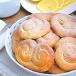 Печенье творожно-лимонное