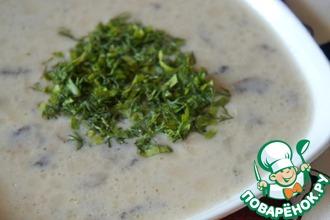 Рецепт: Немецкий сырный суп