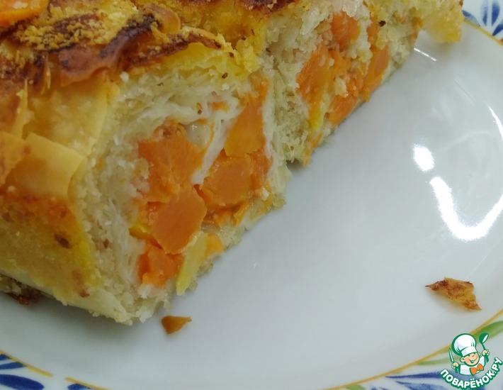 Рецепт: Пирог Осень золотая