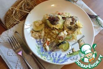 Рецепт: Говяжьи тефтели с бурым рисом