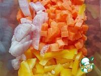 Суп с пельменями и тыквой Осенний ингредиенты