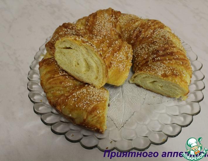 Рецепт: Итальянский хлеб с сыром