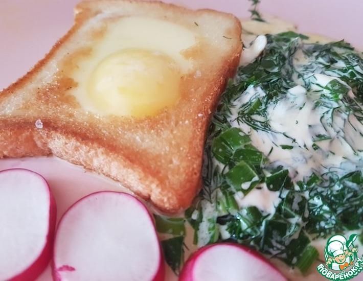 Французские тосты с яйцом