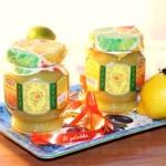 Лимонно-кабачковый джем с имбирем