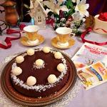 Шоколадный тарт Баунти