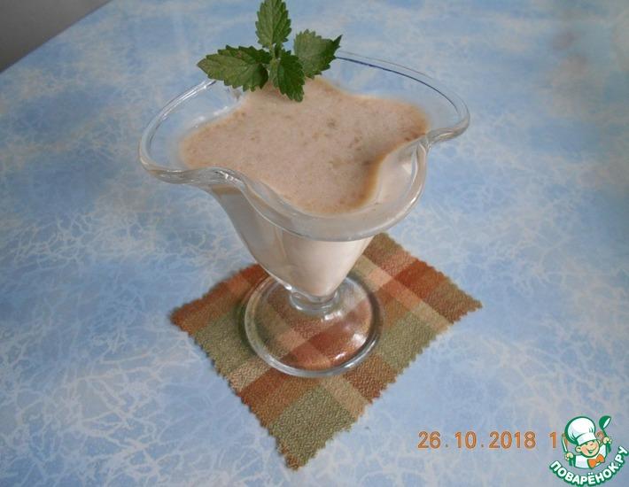 Рецепт: Десерт из ряженки с бананом