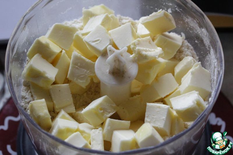 Песочное печенье с пармезаном